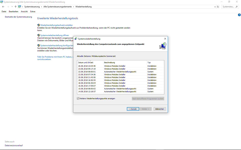 """Dienst """"Windows Modules Installer"""" aktiviert sich immer wieder selbst"""