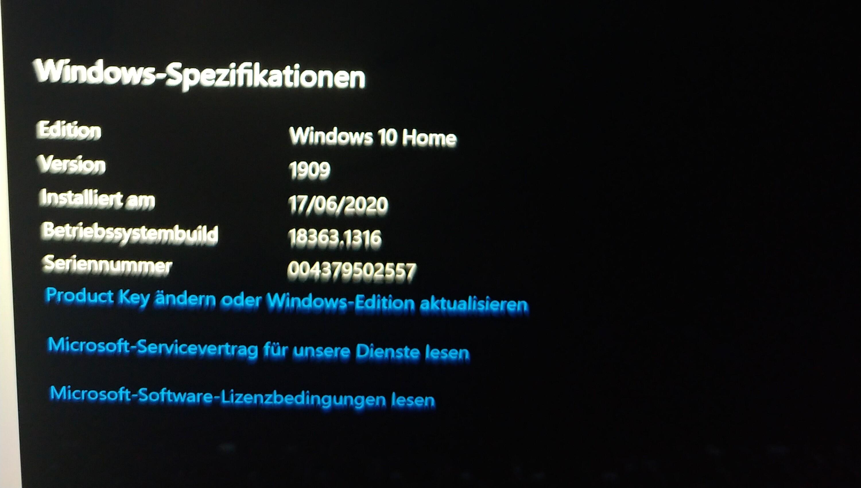 Surface Book 3 Bildschirm Fehler