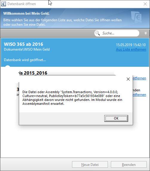 Windows 10 1809 Update (KB449441) und NET.Framework > Probleme danach mit mindestens 2...