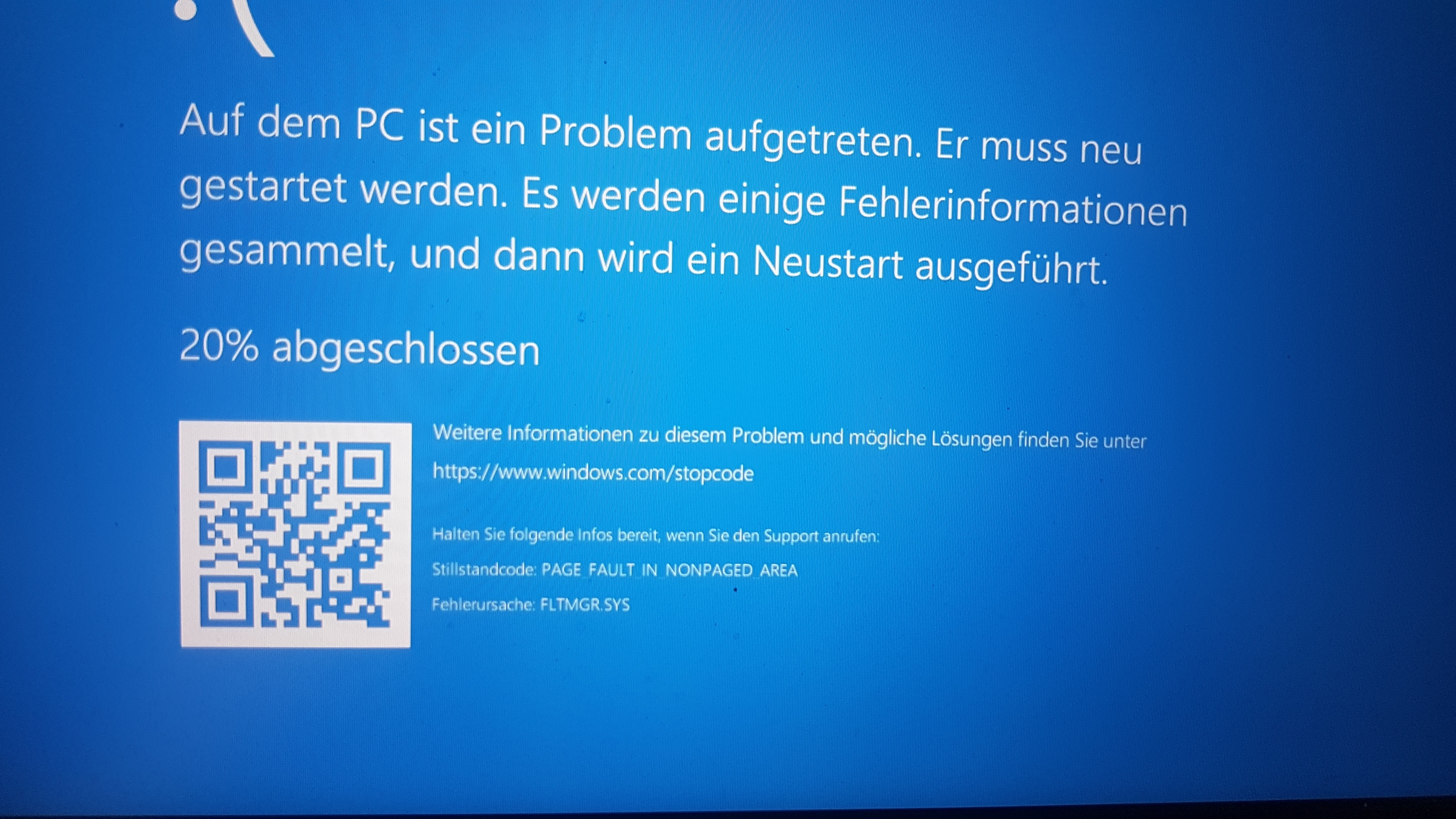 IRQL_NOT_LESS_OR_EQUAL / PAGE_FAULT_IN_NONPAGED_AREA Bluescreen nach RAM Update
