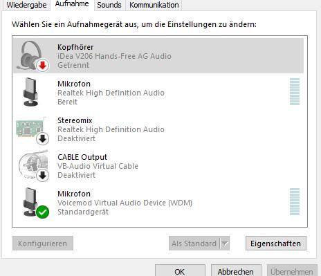 """Bloototh Headset: Immer nur """"Musik verbunden"""""""