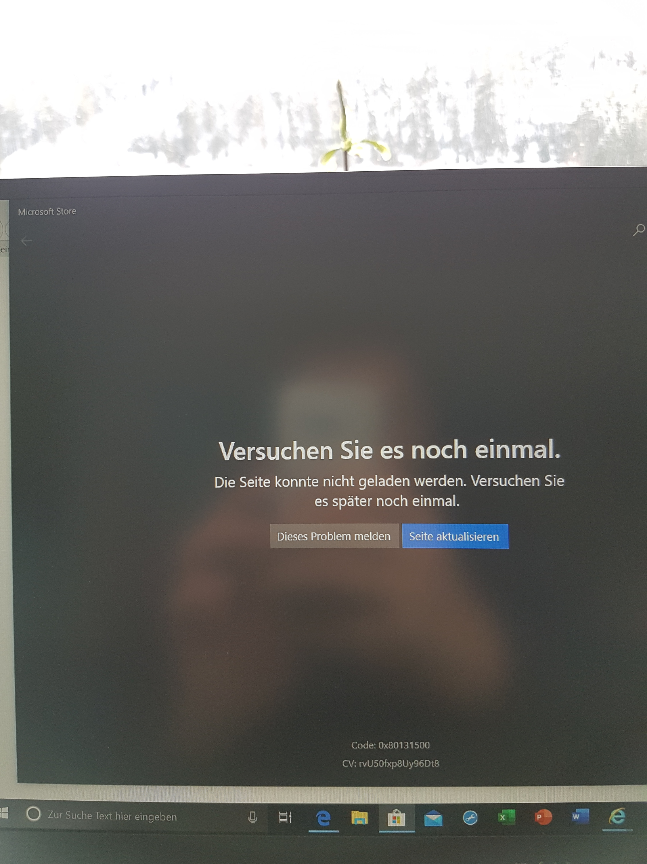 Kein Internetzugriff