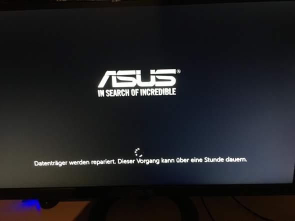 Windows fährt nicht hoch , wie lange soll ich warten?