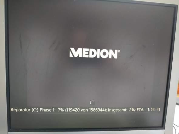 Festplatte repariert sich?