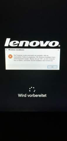 Windows 10 wiederherstellen Fehler unerwartet neu gestartet?