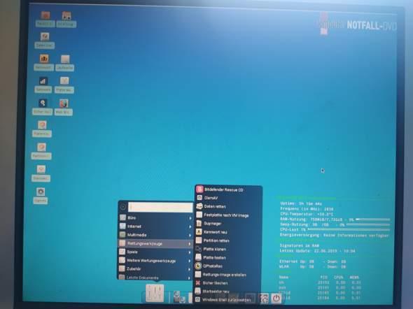 Windows 10 rettungs Stick?