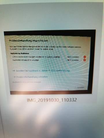 Windows 10Problembehandlung?