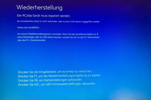 Computer funktioniert nach Partitionieren nicht mehr?