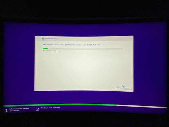 Warum bricht meine Windows 10 Installation immer ab?