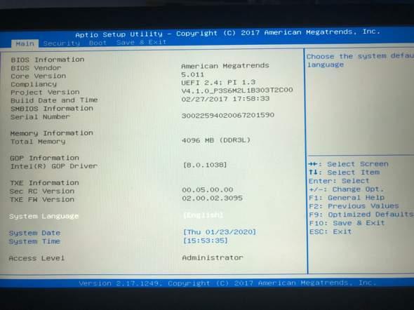 Windows 10 BIOS Virtualisierung?