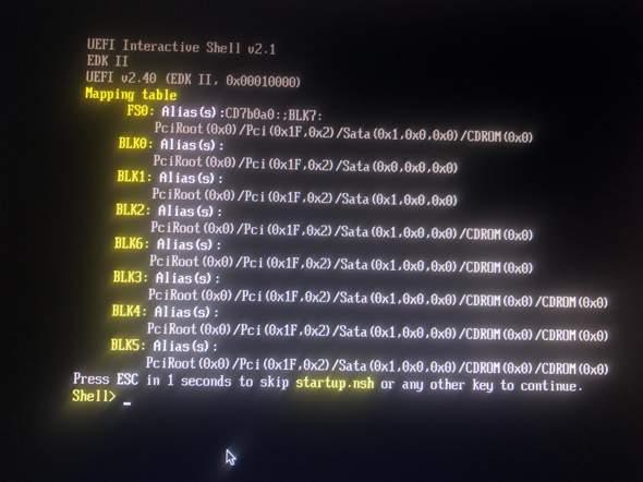 VM MacOS High Sierra Interactive Shell?