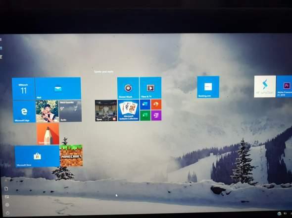 Laptop Desktop verschwunden?
