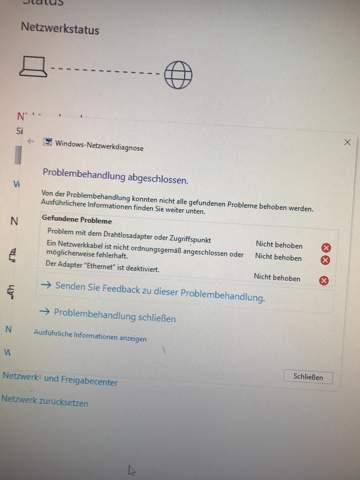 Windows 10 keine WLAN Netzwerke gefunden siehe Bild?