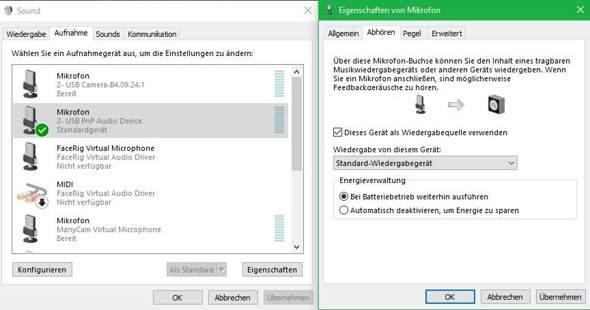 Alle Mikrofone unter Windows funktionieren nicht?