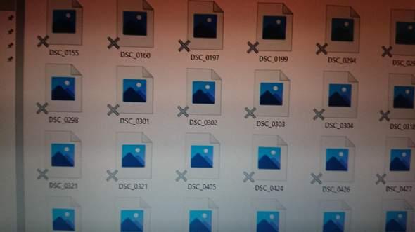 Hallo, alle mit Paint erstellten Dateien sowie alle Fotos in meinen Ordnern lassen sich...