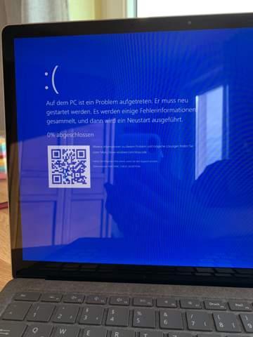 Windows Problem? Bluescreen.? Daten weg?