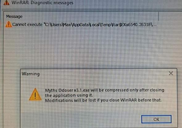 Ich kann keine Exe Dateien öffnen?
