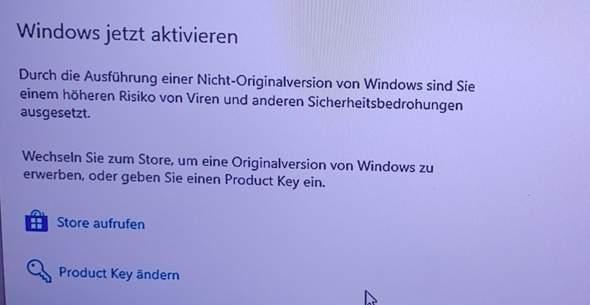 Windows 10 Lizens installieren auf Pc mit Windows 10 aber ohne Lizens?
