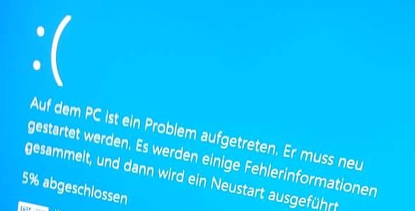 Abstürze wegen fehlender Windows 10 Lizens?