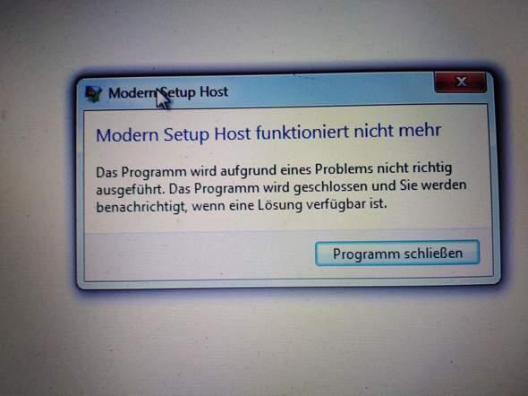 Ich kann nicht auf Windows 10 upgraden?