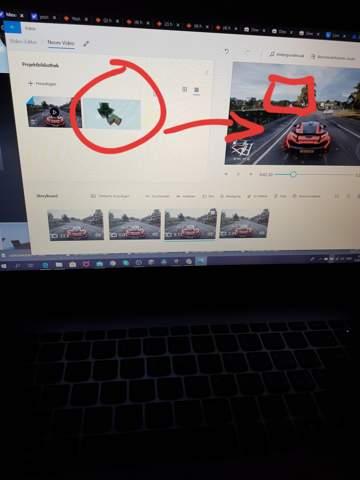 Mit dem Windows 10 Video-Editor Bilder einfügen?