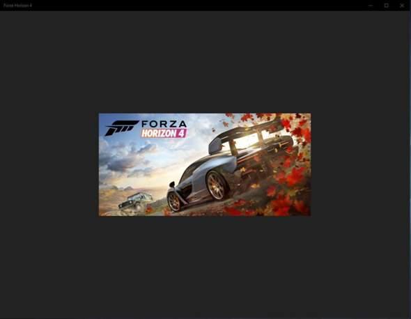 Forza Horizon 4 Win10 startet nicht?