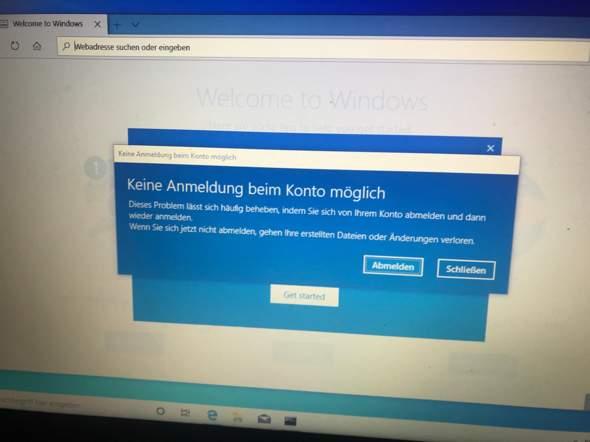 Kann mir wer helfen bei dem Windows10?