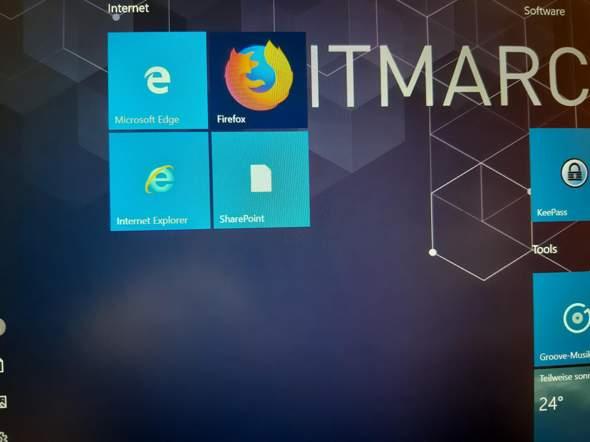 Windows 10 Menü wechseln?