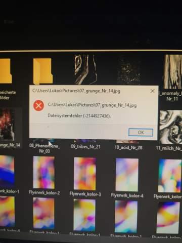 Windows systemfehler?