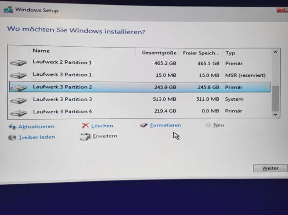 Windows factoryreset über USB Stick?