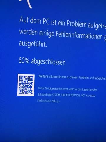 Bluescreen Windows 10, was bedeutert dieser Fehlercode?