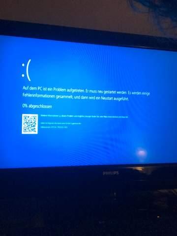 Warum hängt sich mein PC immer nach ca. einer Stunde auf?