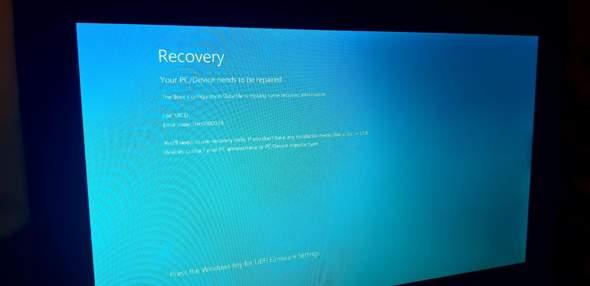 Laptop bootet nicht defekte Datei?