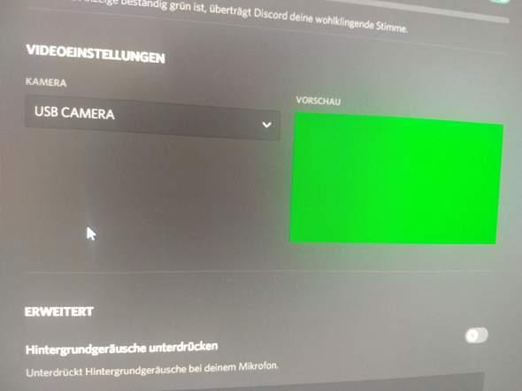 Webcam funktioniert in Discord nicht, warum?