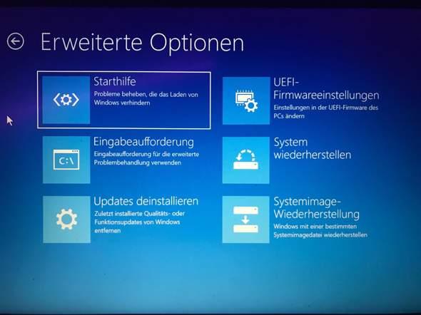 Wie bekomme ich meinen Laptop wieder an? Was muss ich tun?