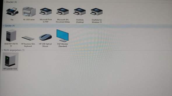 Was muss tun wenn PC Drucker nicht richtig erkennt?