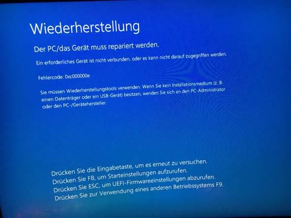 Windows Bluescreen?