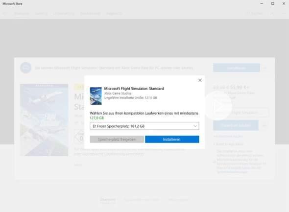 Wie kann ich Microsoft Flight Simulator installieren?