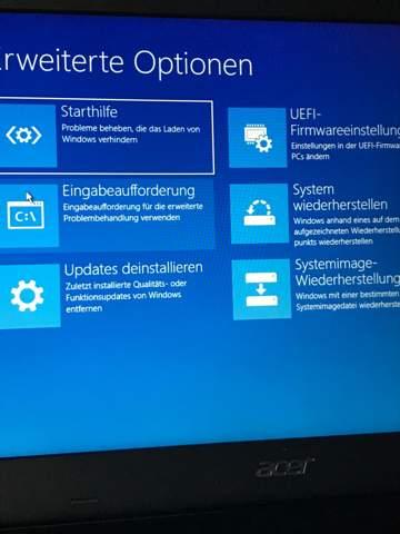 Windows 10 Laptop kaputt!?