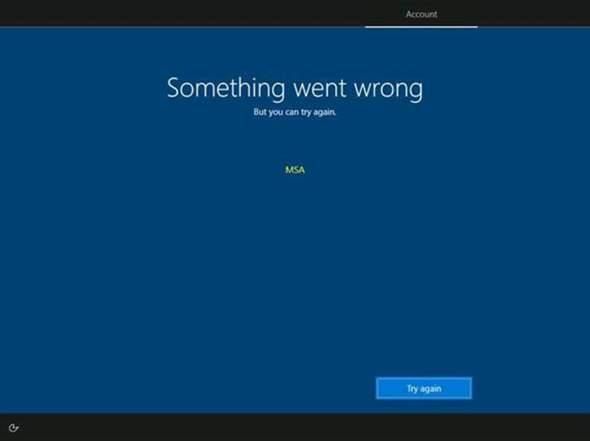 Windows kann nicht wiederhergestellt werden?