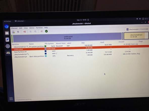 Von dual boot windows linux auf linux?