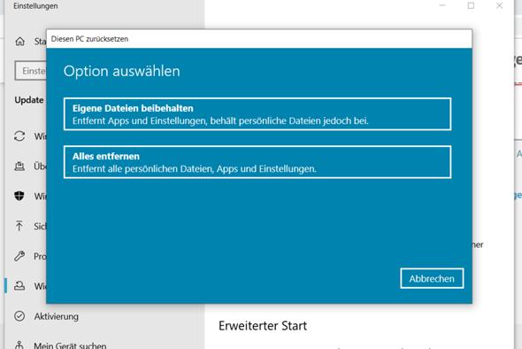 Windows10 mit Creation Tool neu Installieren mit jetzt upgrade für diesen Pc ausführen ist...