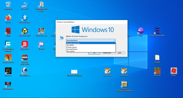 "Microsoft Windows- Funktion ""Ruhezustand""?"