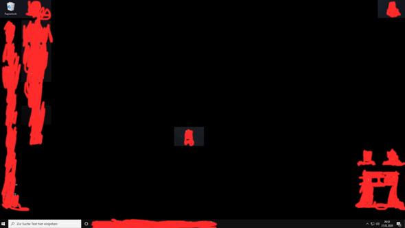 Desktop wird Schwarz und dann wieder normal?