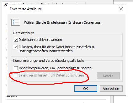 Verschlüsseln einer Text-Datei funktioniert nicht?