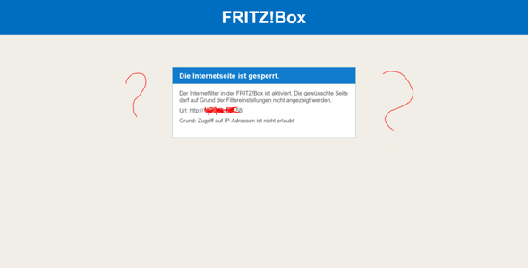 Fritz!Box IP Filter?