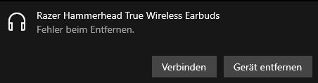 Bluetooth Gerät entfernen Windows 10?