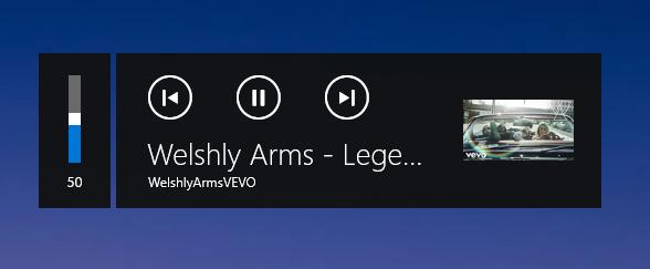 Musik Player Anzeige in Chrome deaktivieren?