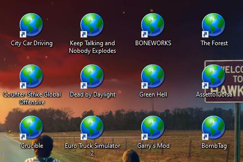 Spiel Icons werden nicht richtig angezeigt?