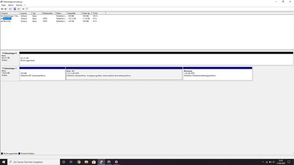 Warum lässt sich die Partition in Windows 10 nicht erweitern?